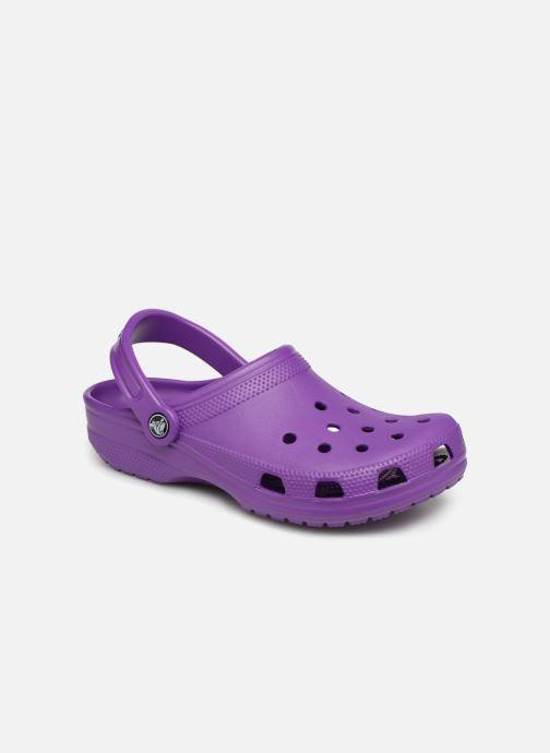 Mules et sabots Crocs Classic F Violet vue détail/paire