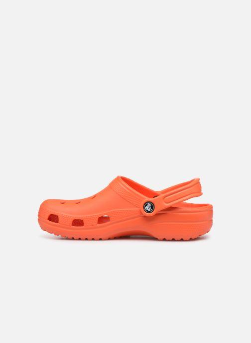 Clogs & Pantoletten Crocs Cayman F orange ansicht von vorne