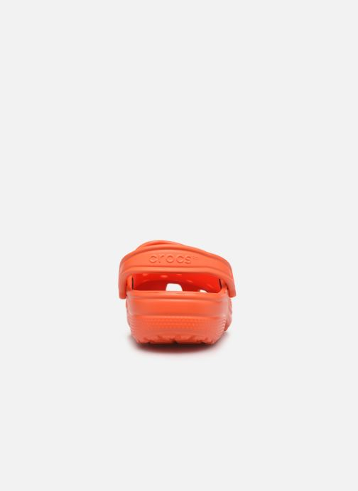 Clogs & Pantoletten Crocs Cayman F orange ansicht von rechts