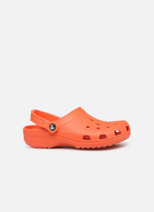 Mules et sabots Crocs Classic F Orange vue derrière