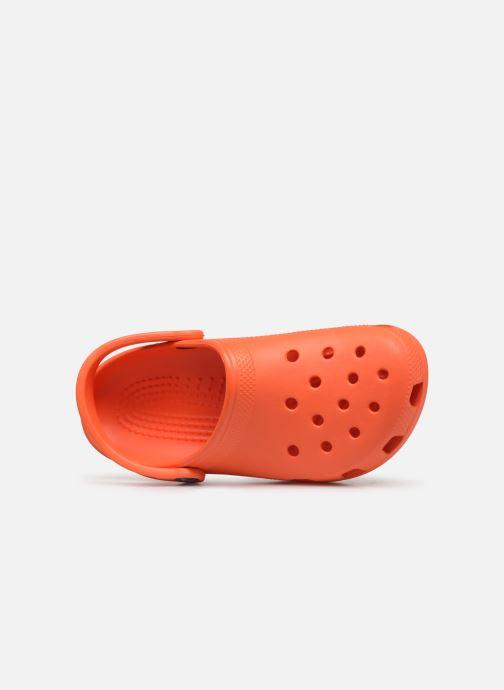 Mules et sabots Crocs Classic F Orange vue gauche
