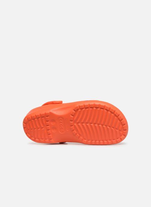 Clogs & Pantoletten Crocs Cayman F orange ansicht von oben