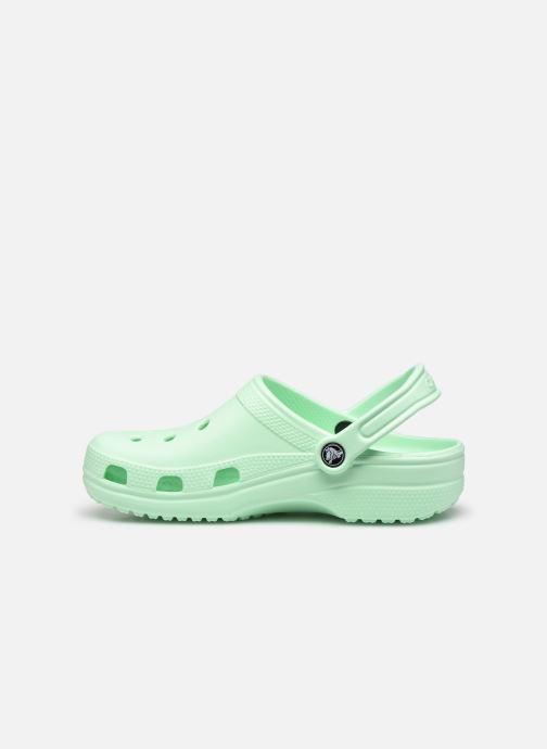 Clogs & Pantoletten Crocs Cayman F grün ansicht von vorne