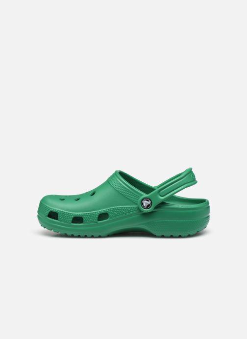 Mules et sabots Crocs Classic F Vert vue face