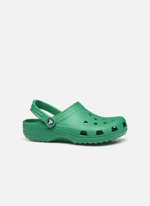 Zuecos Crocs Cayman F Verde vistra trasera