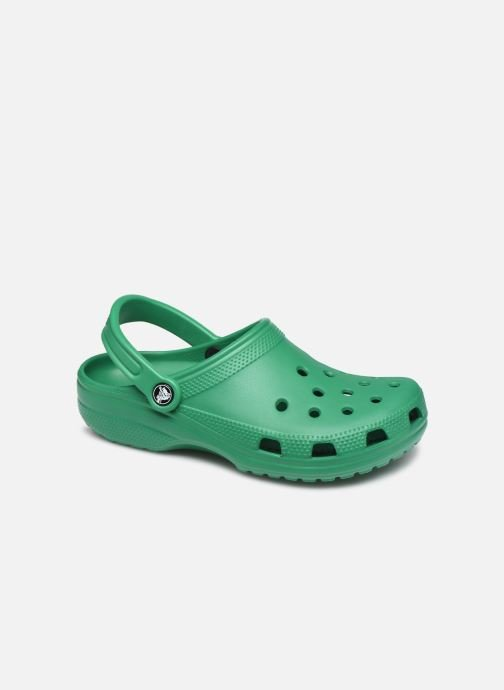 Mules et sabots Crocs Classic W Vert vue détail/paire