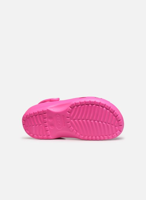 Clogs & Pantoletten Crocs Cayman F rosa ansicht von oben