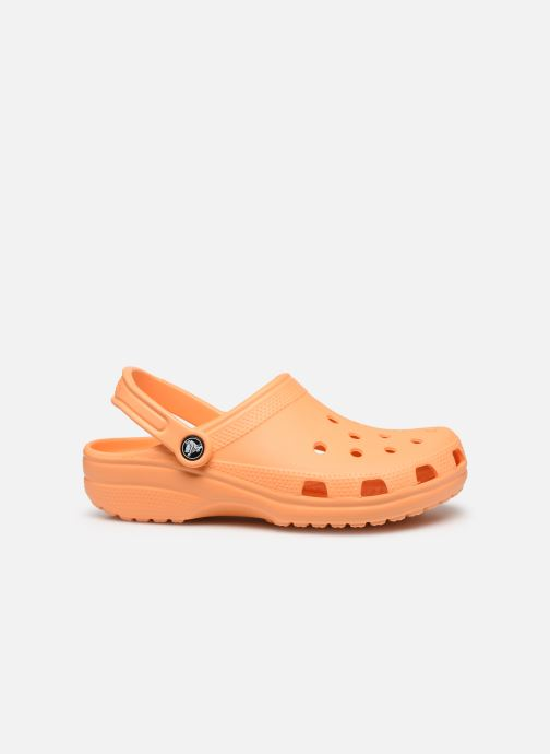 Zuecos Crocs Cayman F Naranja vistra trasera