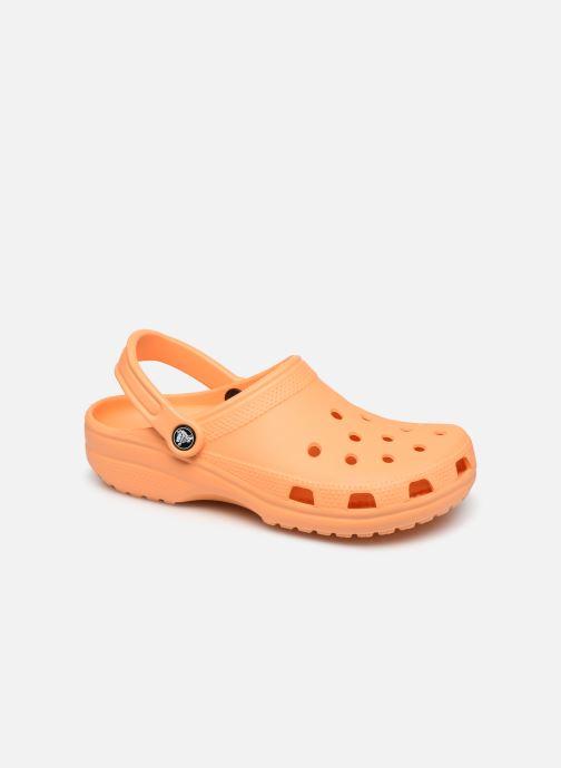 Mules et sabots Crocs Classic F Orange vue détail/paire