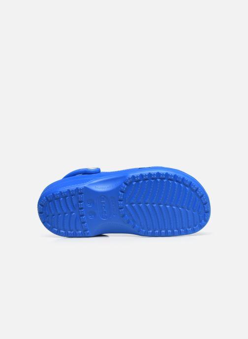 Zuecos Crocs Cayman F Azul vista de arriba