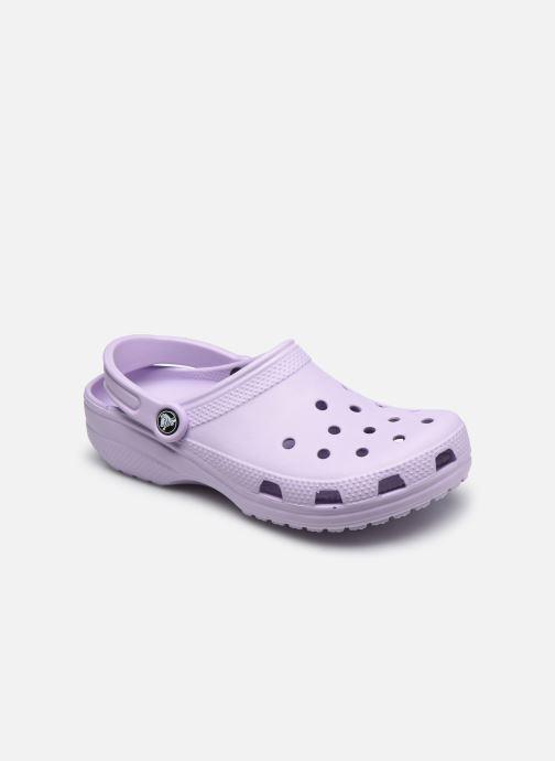 Mules et sabots Crocs Classic W Violet vue détail/paire