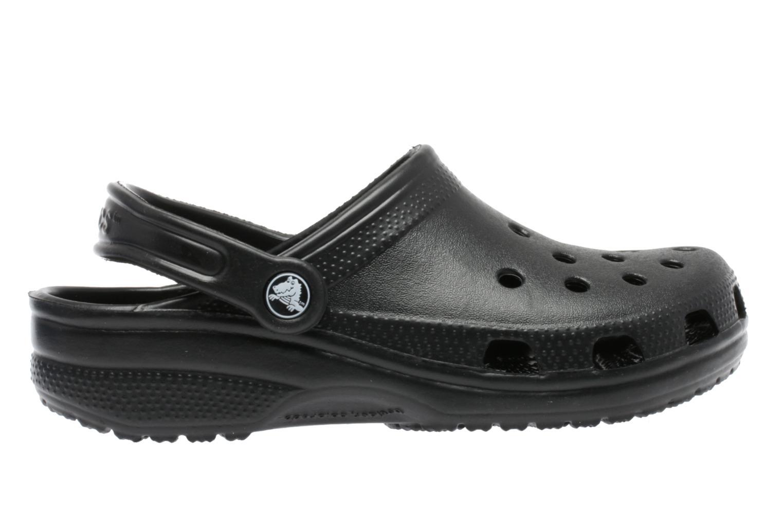Mules et sabots Crocs Classic F Noir vue derrière