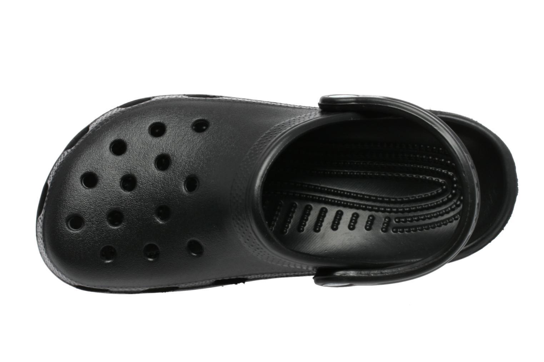 Mules et sabots Crocs Classic F Noir vue gauche