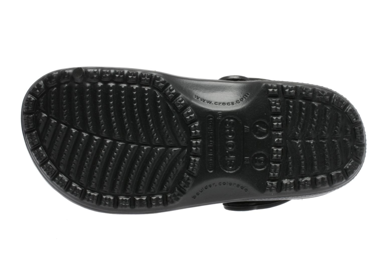 Mules et sabots Crocs Classic F Noir vue haut