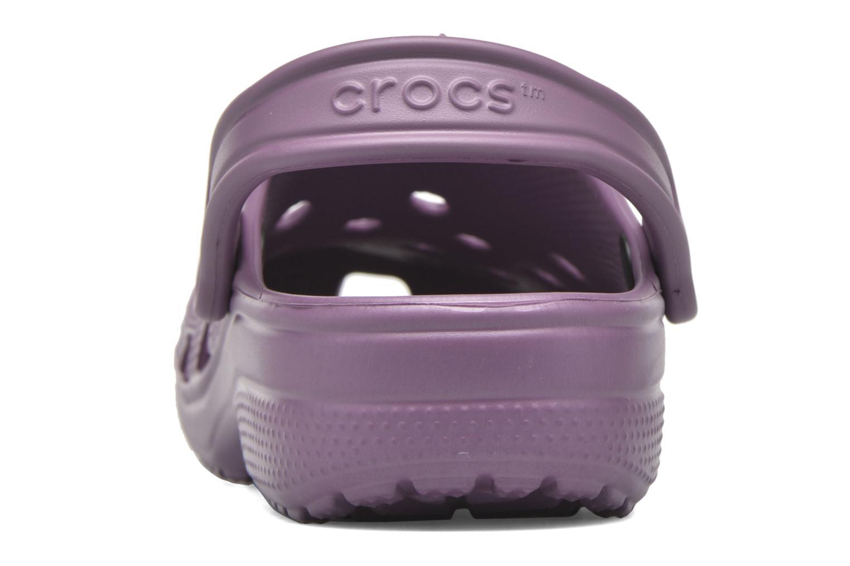 Mules et sabots Crocs Classic F Violet vue droite
