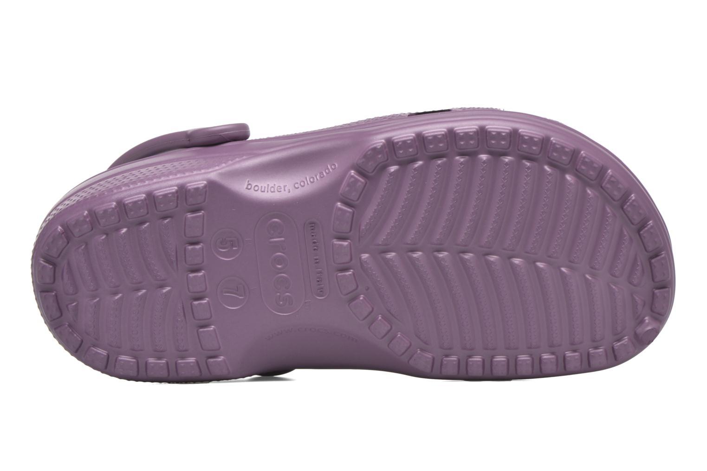 Mules et sabots Crocs Classic F Violet vue gauche