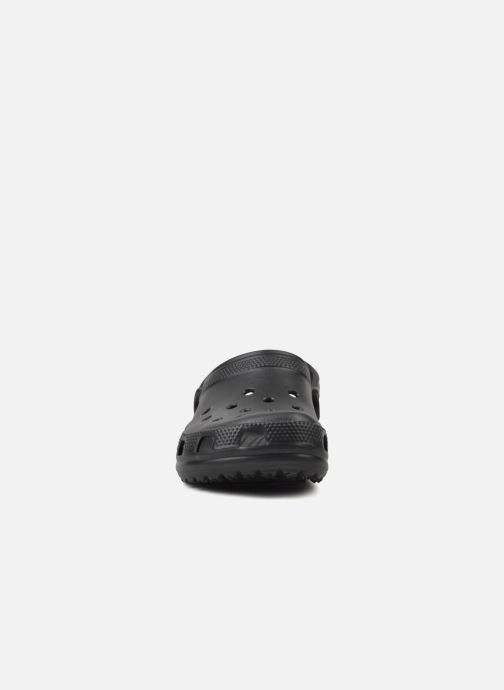 Sandalen Crocs Cayman H schwarz schuhe getragen