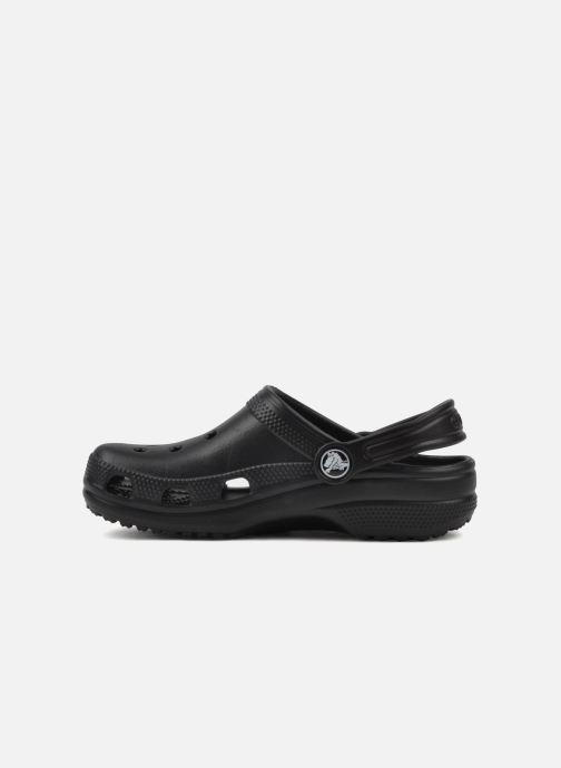 Sandalen Crocs Cayman H schwarz ansicht von vorne