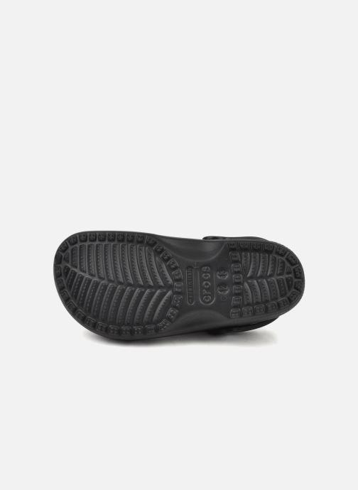 Sandales et nu-pieds Crocs Classic H Noir vue haut