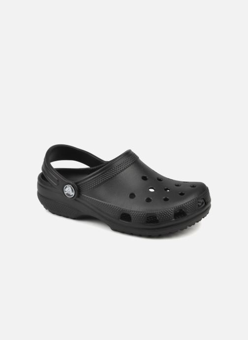 Sandals Crocs Cayman H Black detailed view/ Pair view