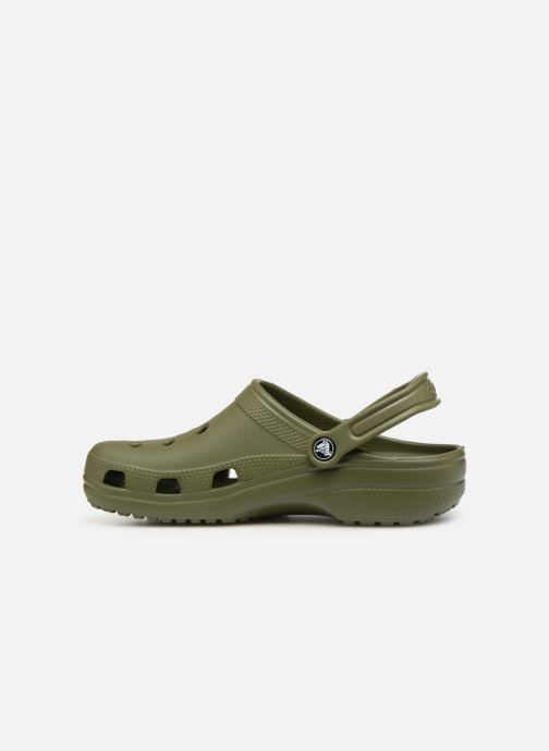 Sandali e scarpe aperte Crocs Cayman H Verde immagine frontale