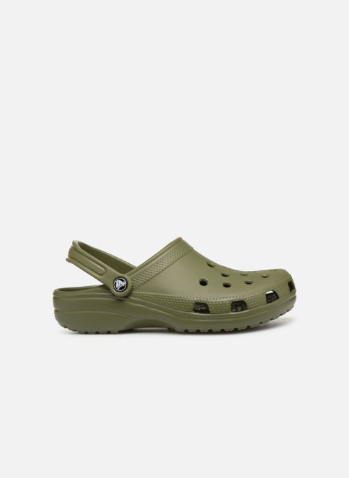 Sandals Crocs Cayman H Green back view