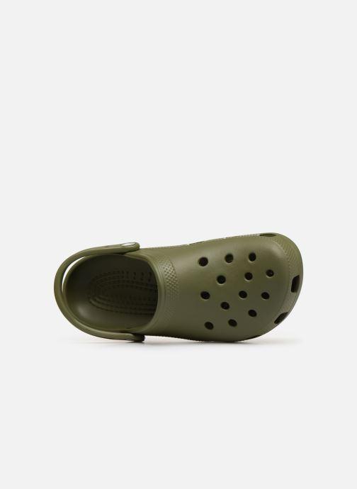 Sandali e scarpe aperte Crocs Cayman H Verde immagine sinistra
