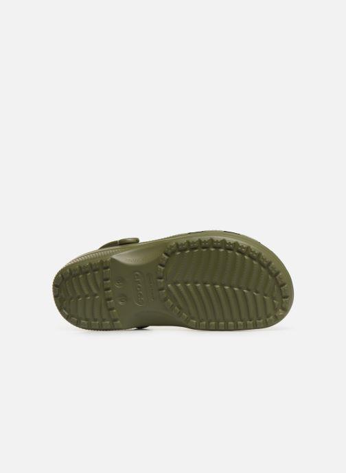 Sandali e scarpe aperte Crocs Cayman H Verde immagine dall'alto