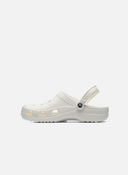 Sandals Crocs Cayman H White front view
