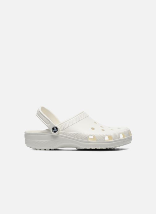 Sandals Crocs Cayman H White back view