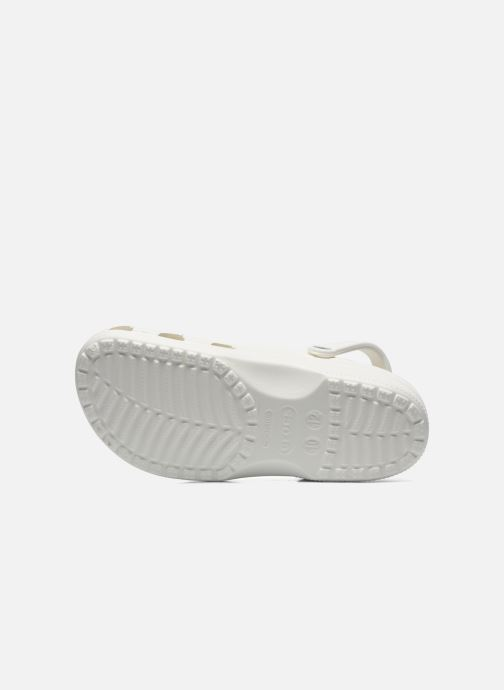 Sandalen Crocs Cayman H Wit boven