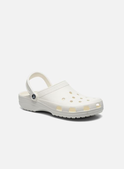 Sandals Crocs Cayman H White detailed view/ Pair view