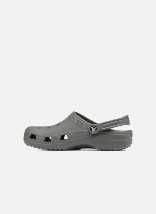 Sandals Crocs Cayman H Grey front view