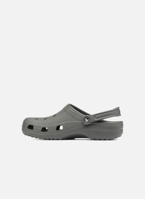 Sandals Crocs Cayman H Grey front view