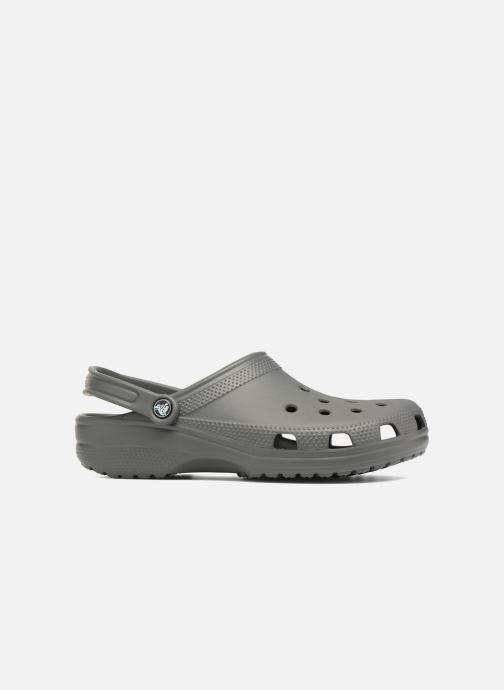 Sandals Crocs Cayman H Grey back view