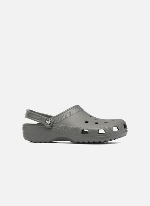 Sandals Crocs Cayman H Grey back view