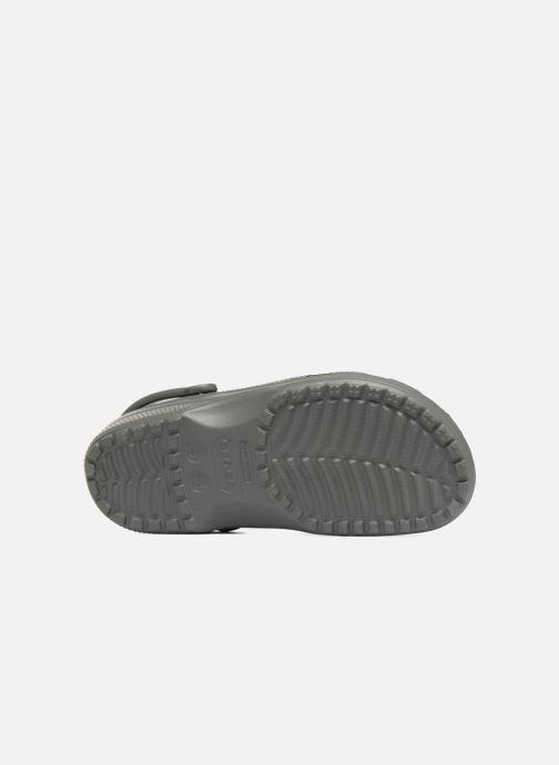 Sandales et nu-pieds Crocs Classic H Gris vue haut