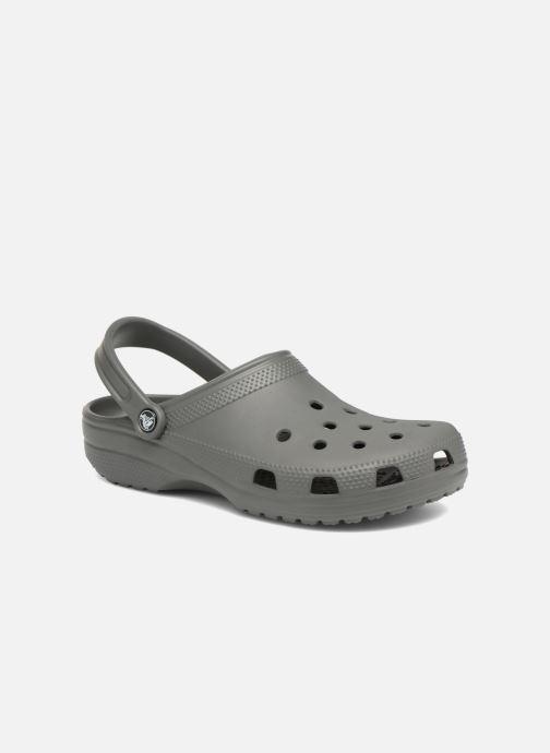 Sandals Crocs Cayman H Grey detailed view/ Pair view