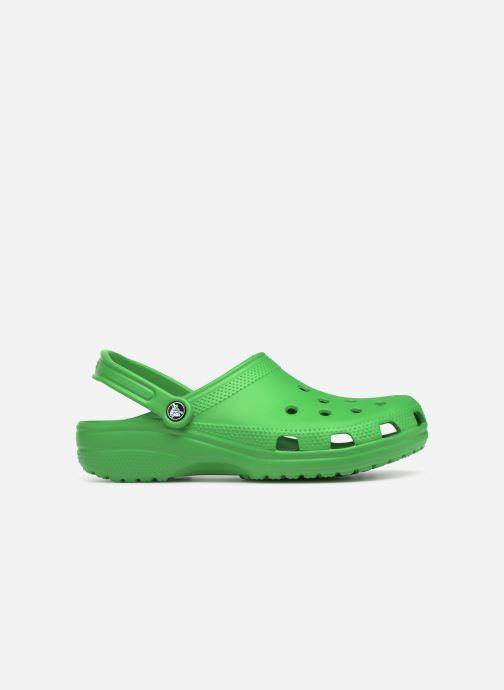Sandals Crocs Cayman H Green back view