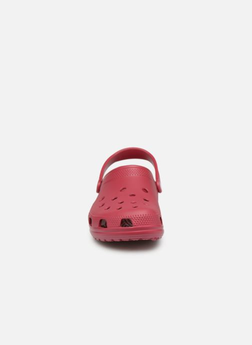Sandales et nu-pieds Crocs Classic H Rose vue portées chaussures