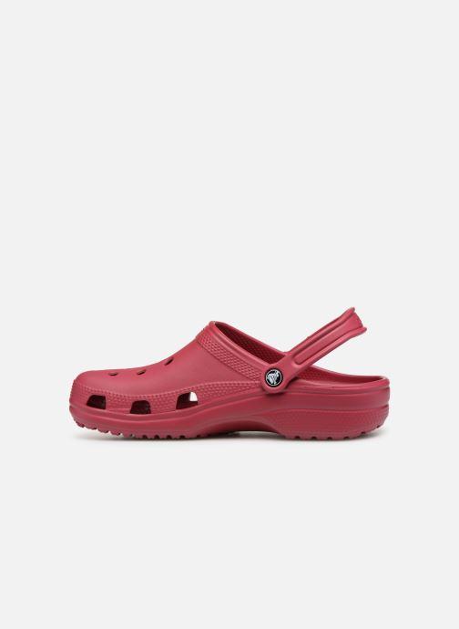 Sandales et nu-pieds Crocs Classic H Rose vue face