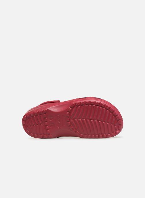 Sandales et nu-pieds Crocs Classic H Rose vue haut