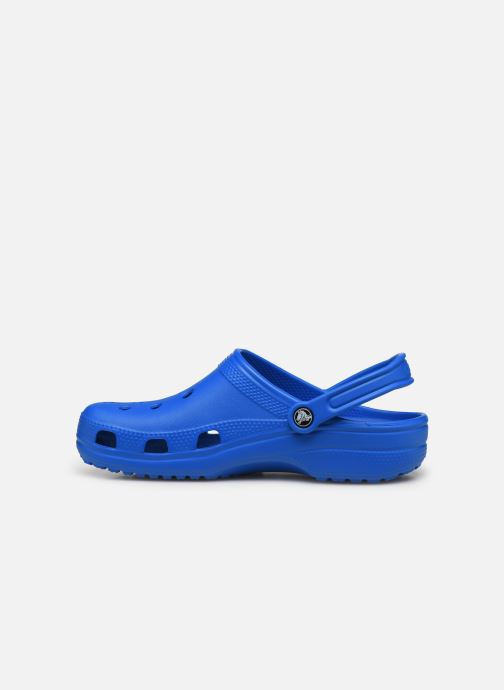 Sandali e scarpe aperte Crocs Cayman H Azzurro immagine frontale
