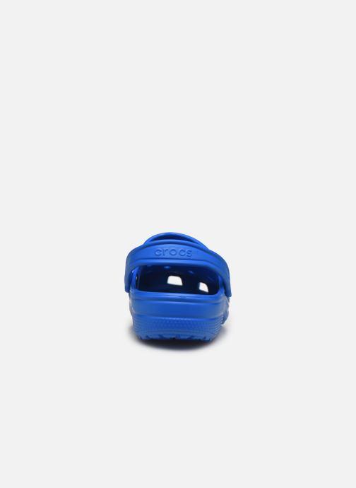Sandales et nu-pieds Crocs Classic H Bleu vue droite