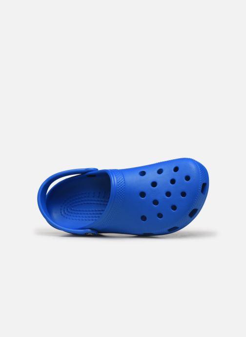 Sandales et nu-pieds Crocs Classic H Bleu vue gauche