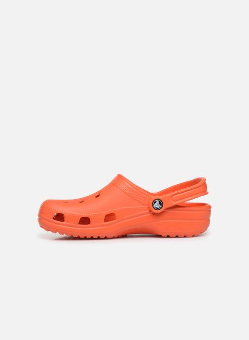 Sandalias Crocs Cayman H Naranja vista de frente