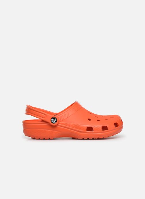 Sandals Crocs Cayman H Orange back view
