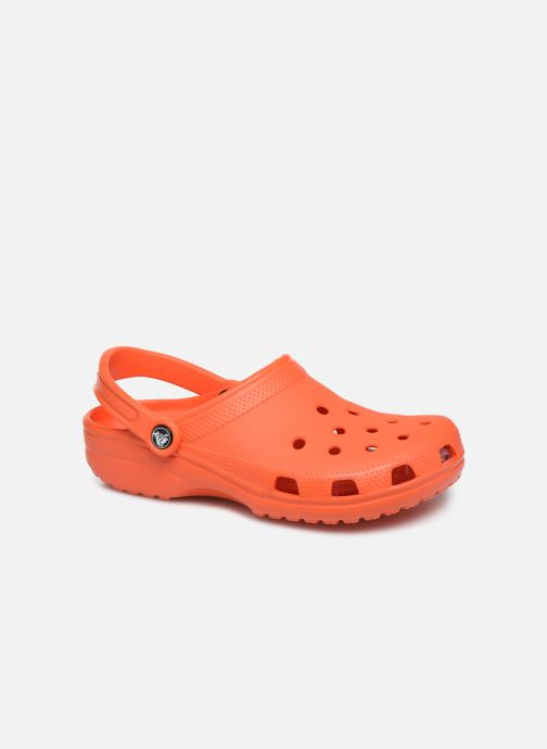 Sandals Crocs Cayman H Orange detailed view/ Pair view
