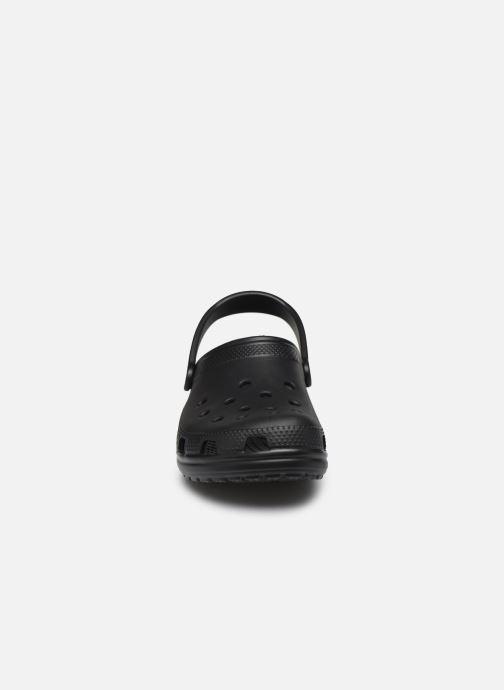 Sandali e scarpe aperte Crocs Cayman H Nero modello indossato