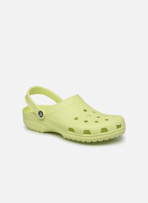 Sandales et nu-pieds Crocs Classic M Jaune vue détail/paire